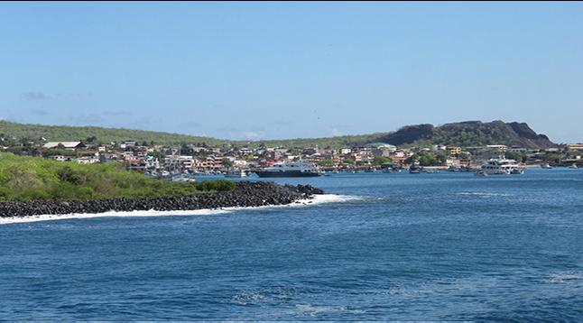 Panorama Puerto Baquerizo Moreno